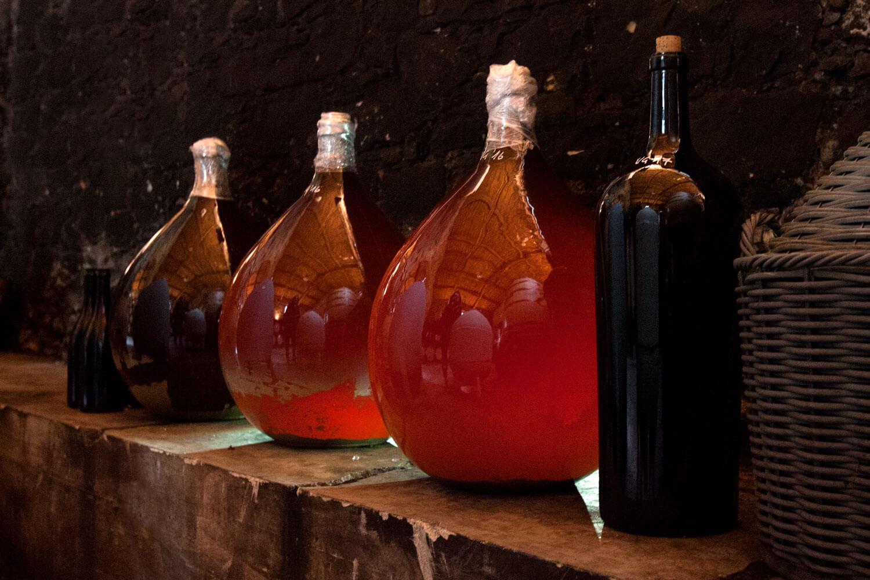 dotevini dote vini naturali syrah viognier damigiana